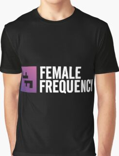 Female Frequency Graphic T-Shirt