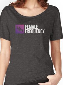 Female Frequency Women's Relaxed Fit T-Shirt