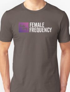 Female Frequency Unisex T-Shirt