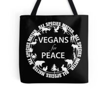 Vegans for Peace 4 Tote Bag