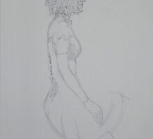 Graphite Sketch by Elaine Bawden