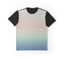 Daytime Fade | Pastel Stripes Graphic T-Shirt