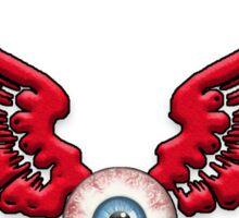 Flying Eyeball Red wings Sticker