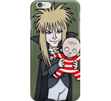 The Goblin King with Toby cartoon iPhone Case/Skin