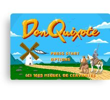 Don Quixote | The Video Game Canvas Print