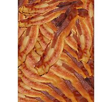 Bacon Collage Photographic Print