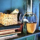 Books and Baskets by Susan Savad