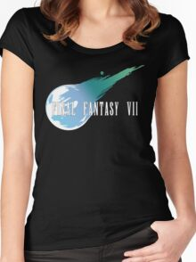 Meteor Logo - Final Fantasy VII Women's Fitted Scoop T-Shirt
