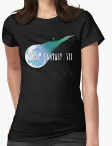 Meteor Logo - Final Fantasy VII Womens Fitted T-Shirt