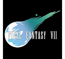 Meteor Logo - Final Fantasy VII Photographic Print
