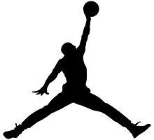 Michael Jordan Jump man by dfount7