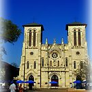 San Fernando Cathedral by Charmiene Maxwell-Batten