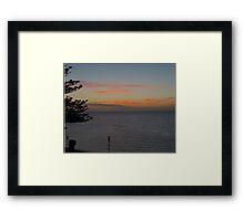 Sunset,  Kangaroo Island, Australia Framed Print