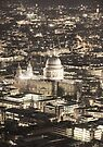 Night View over St Pauls by Jasna