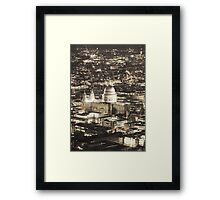 Night View over St Pauls Framed Print