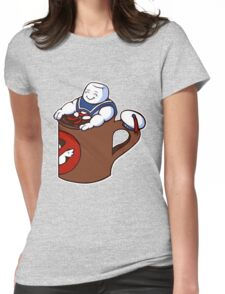 Cup of Stay Puft Womens Fitted T-Shirt