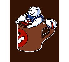 Cup of Stay Puft Photographic Print