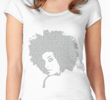 Last night a deejay saved my life Women's Fitted Scoop T-Shirt