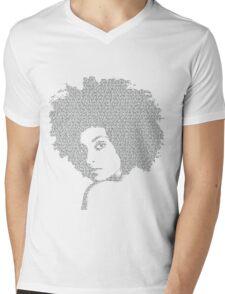 Last night a deejay saved my life Mens V-Neck T-Shirt