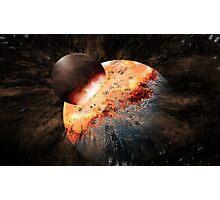 Falling Moon Photographic Print