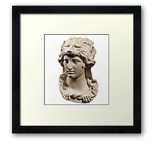 Aesthetic Bust Framed Print