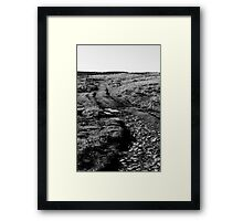 Wire Fences Framed Print