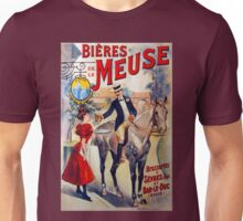 Vintage French Beer Advertisment Unisex T-Shirt