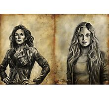 Griffin Girls Photographic Print