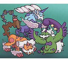 Cute Genie Pokemon Photographic Print