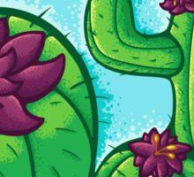 Cactus Flower Sticker