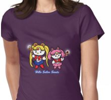 Hello Sailor Scouts Womens Fitted T-Shirt