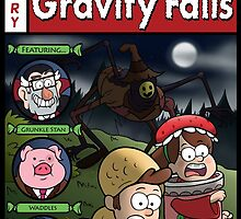 Tales from Gravity Falls by jellysoupstudio