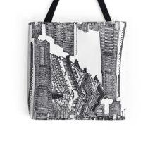 Japanese Skyfall Tote Bag