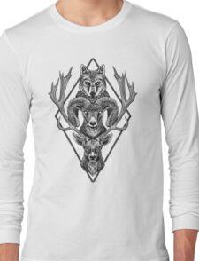 Wolfram Hart (B&W) Long Sleeve T-Shirt