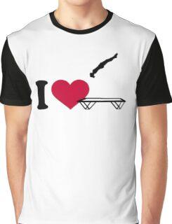 I love trampolining Graphic T-Shirt