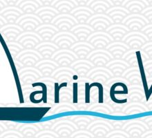 MarineVerse Banner Sticker