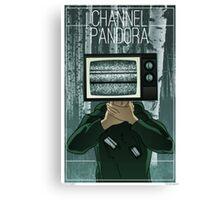 Channel Pandora: Diggory Canvas Print