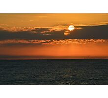 Smaller Sunset Photographic Print