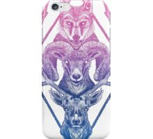 Wolfram Hart (Color) iPhone Case/Skin