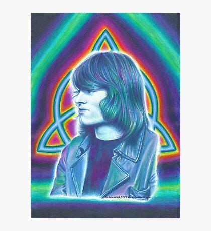 John Paul Jones of Led Zeppelin Photographic Print
