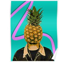 I Can't Fruit My Face Poster