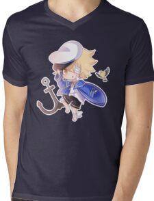 Vocaloid Oliver Chibi Mens V-Neck T-Shirt