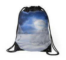 Winter Dreams Drawstring Bag