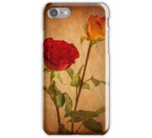 Roses Two Ways iPhone Case/Skin