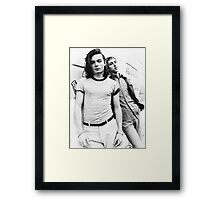Guy-Manuel et Thomas Framed Print