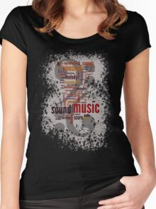 Sound Music Women's Fitted Scoop T-Shirt