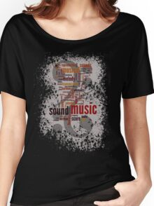 Sound Music Women's Relaxed Fit T-Shirt