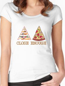 Close enough Women's Fitted Scoop T-Shirt