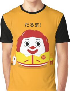 Ronald Daruma Graphic T-Shirt