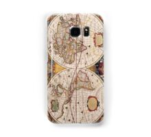 Old World map Samsung Galaxy Case/Skin